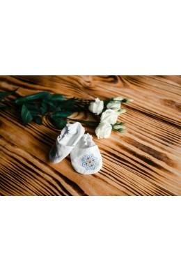 Чопики з вишивкою для хрещення ХП 11 с фото