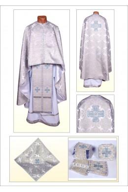 Церковное одеяние Ф101 серебрянное фото