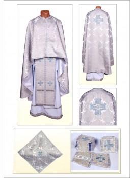 Церковне вбрання Ф101 срібне
