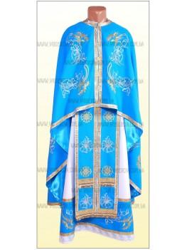 Фелонь церковная вышитая Ф1