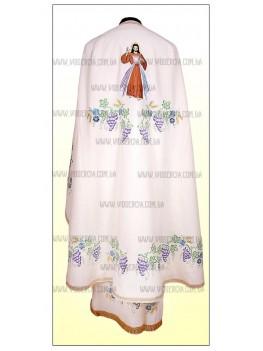 Церковний одяг Ф22 молочний