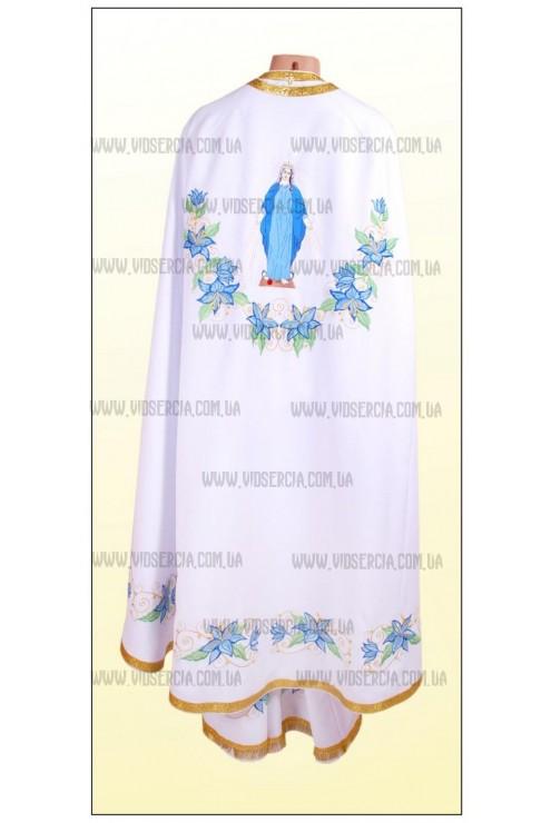 Вишиті шати для священнослужителів Ф27 білі фото