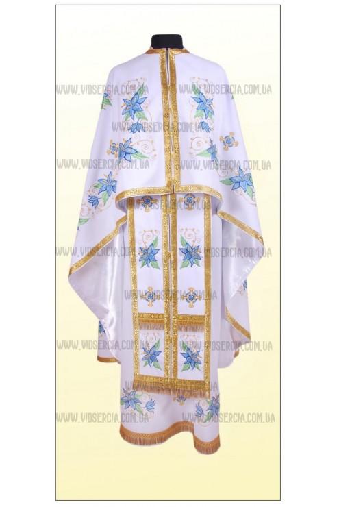 Вышитая одежда для священнослужителей Ф28 фото
