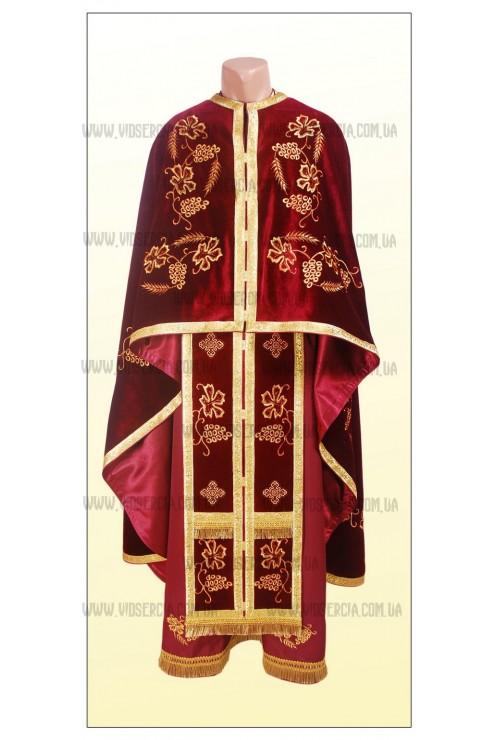 Вишиті шати для священників Ф35 фото