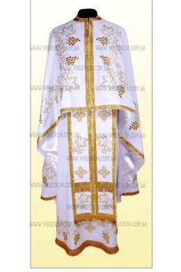 Вишиті церковні шати ФГ 43 білий
