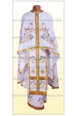 Фелонь украшенная вышивкой Ф52 фото