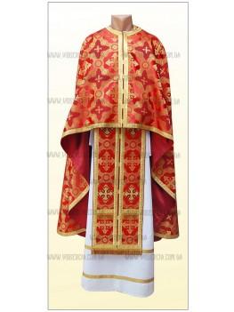 Шати для священників Ф59 червоні