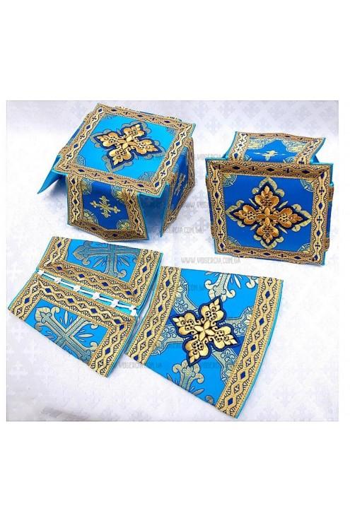 Вбрання для священнослужителів Ф59 синє фото