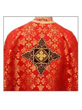 Фелон церковний Ф 70 червоний