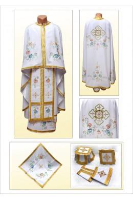Вышитая одежда для священников Ф66 фото