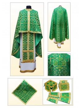 Шати для священнослужителя Ф70 зелені
