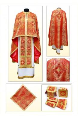 Одяг для священнослужителів Ф75 червоний фото