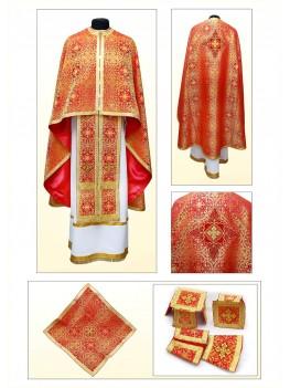Одяг для священнослужителів Ф75 червоний