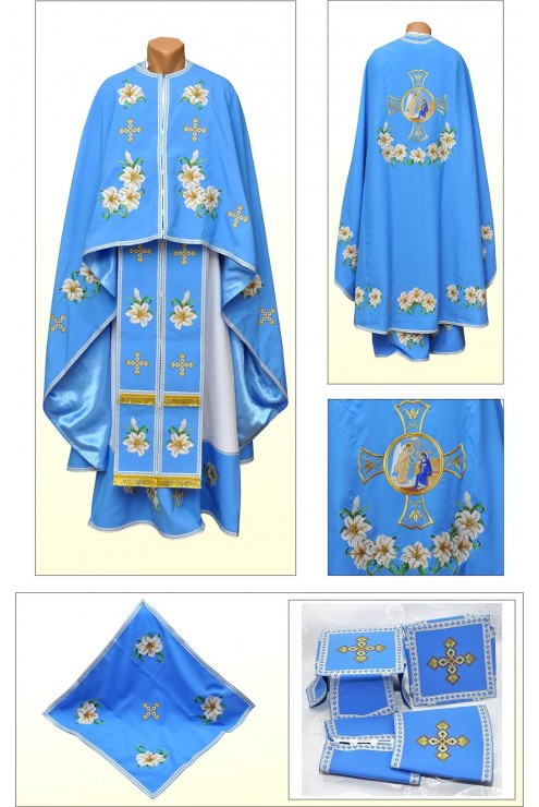 Одеяние вышитое церковное Ф87 фото