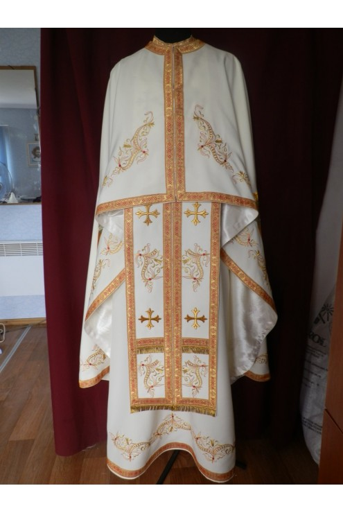 Шати для священників вишиті Ф91 фото