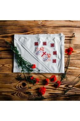 Полотенце крестильное вышитое ХП 09 фото