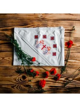 Полотенце крестильное вышитое ХП 09
