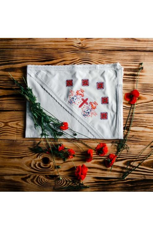Рушник хрестильний вишитий ХП 09 фото