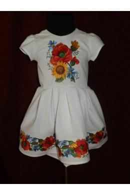 Плаття дитяче з вишивкою 2379 фото