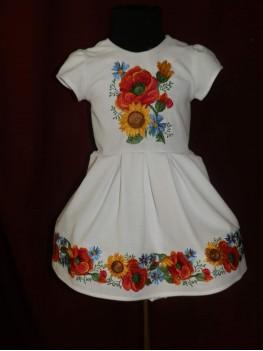 Плаття дитяче з вишивкою 2379