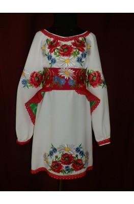 Вышитое платье детское 2382