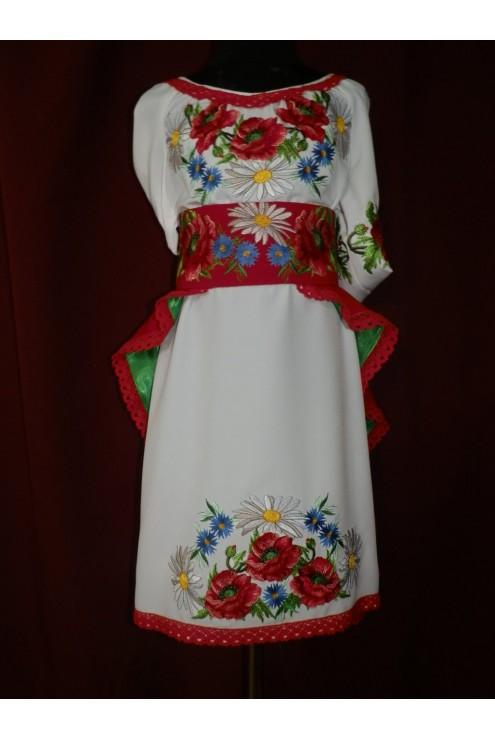 Вишите плаття дитяче 2382 фото