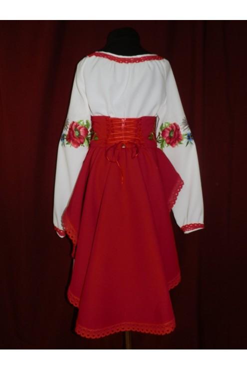 Вышитое платье детское 2382 фото