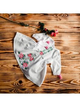 Платье для крещения вышитое ХП 03