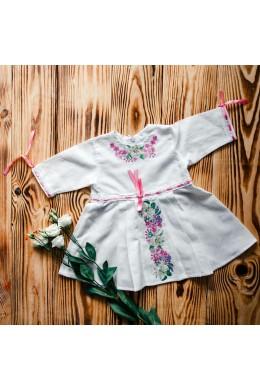 Плаття для хрещення з вишивкою ХП 04 фото