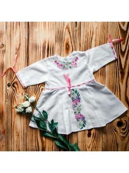 Платье для крещения с вышивкой ХП 04