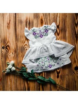 Вишите плаття для хрещення ХП 05