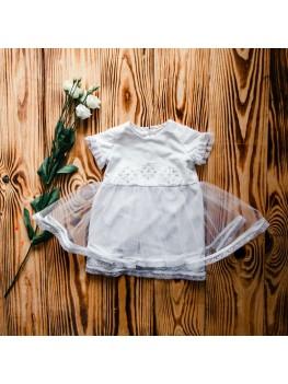 Крестильное платье вышитое ХП 08 ф