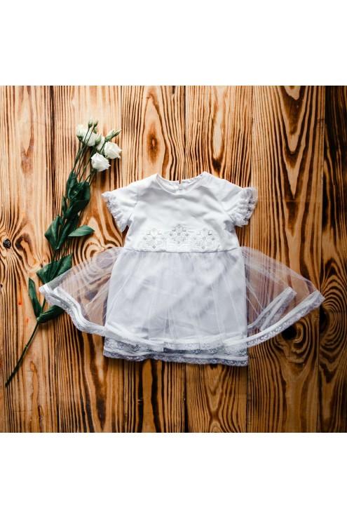 Плаття для хрещення ХП 08 ф фото