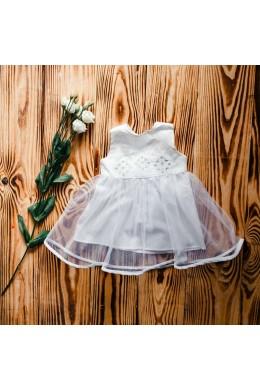 Вышиванка платье для крещения ХП 08 л + ф фото