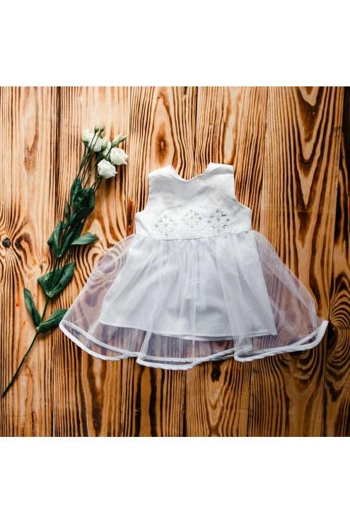 Вишиванка плаття для хрещення ХП 08 л + ф фото