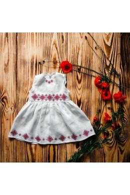 Хрестильне вишите плаття ХП 09 фото