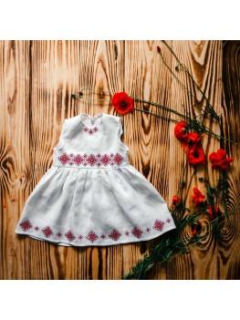 Хрестильне вишите плаття ХП 09