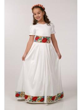 Платье для первого причастия под заказ ПА28