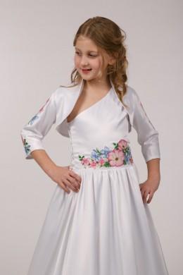 Нарядное платье для причастия ПА 03 фото