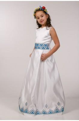 Вышитое платье для причастия ПА 05