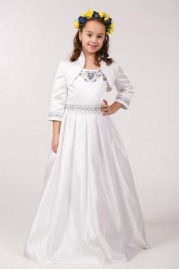 Нарядное платье для первого причастия ПА 10 фото
