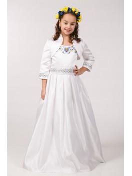 Нарядное платье для первого причастия ПА 10