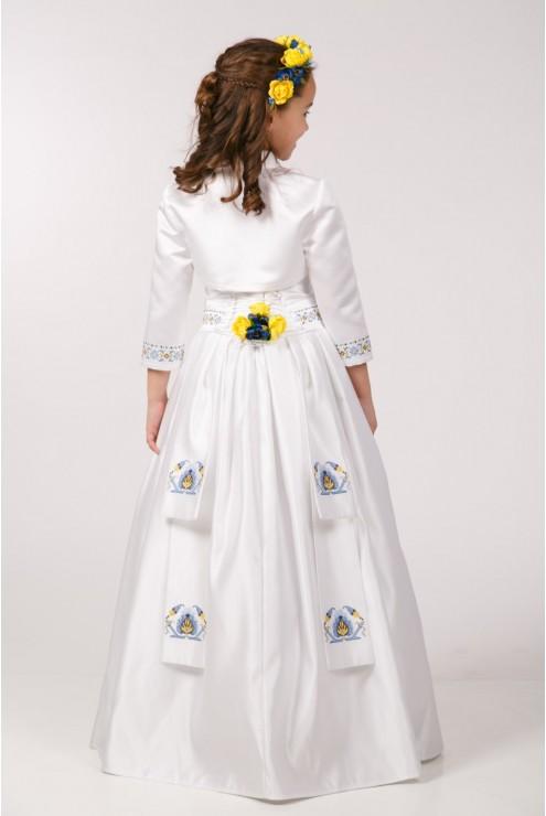 Плаття для 1-о причастя ПА 10 фото