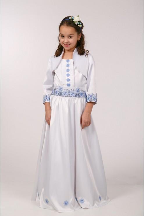 Вишита сукня до першого причастя ПА 22(2) – купити в Києві d107af8492245