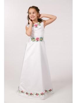 Вишите плаття для 1 причастя ПА 25