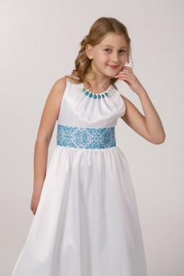 Вишита сукня для 1 причастя ПА 26 фото