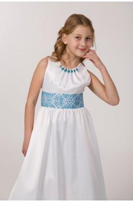 Вишита сукня для 1 причастя ПА 26