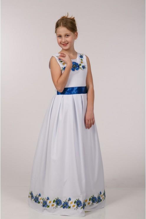 Вишита сукня для 1-о причастя ПГ 21 фото