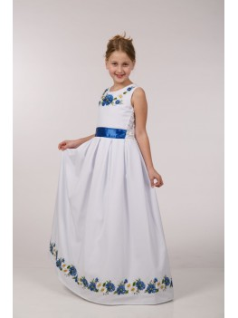 Вишита сукня для 1-о причастя ПГ 21