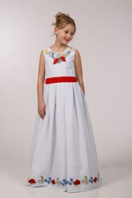 Нарядное платье для обряда причастия ПГ 23 фото